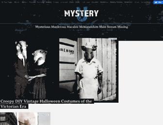 mysteryu.com screenshot