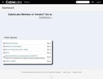 community.cablelabs.com screenshot