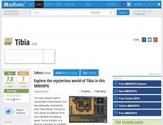 tibia.en.softonic.com screenshot
