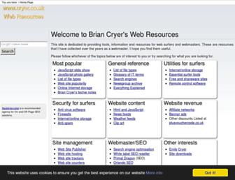 cryer.co.uk screenshot