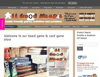 gamescache.co.uk screenshot