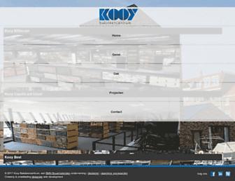 Main page screenshot of kooy.nl