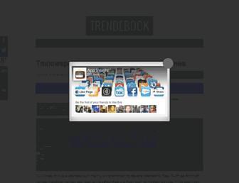 trendebook.com screenshot
