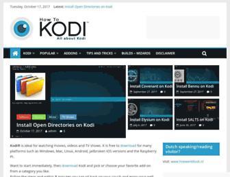 howtokodi.eu screenshot