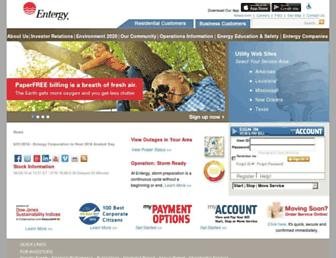 Thumbshot of Entergy.com