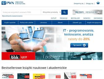 ksiegarnia.pwn.pl screenshot