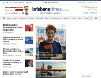 Thumbshot of Brisbanetimes.com.au