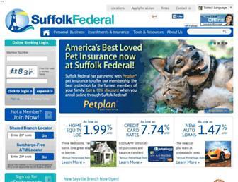 Thumbshot of Suffolkfcu.org
