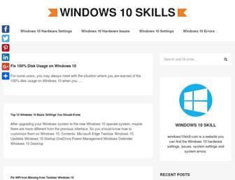 windows10skill.com screenshot