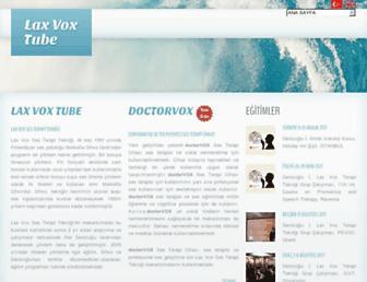 laxvox.com screenshot
