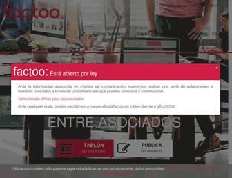 factoo.es screenshot