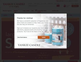 Thumbshot of Yankeecandle.com