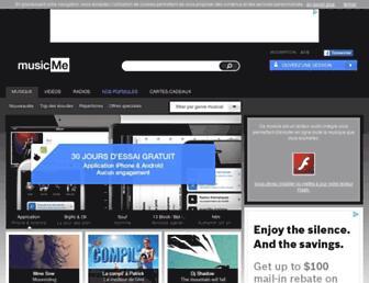 musicme.com screenshot