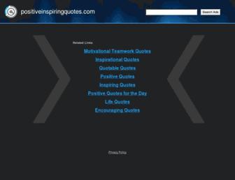 positiveinspiringquotes.com screenshot