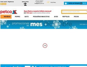 petco.com.mx screenshot