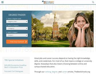 thebestschools.org screenshot