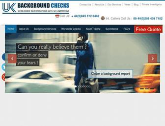 Thumbshot of Ukbackgroundchecks.com