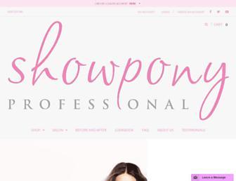showponyaus.com.au screenshot
