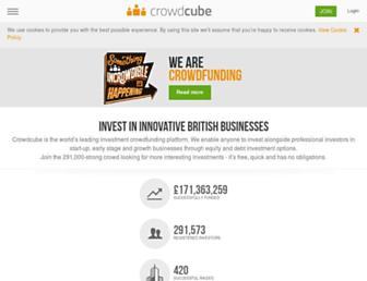 crowdcube.com screenshot