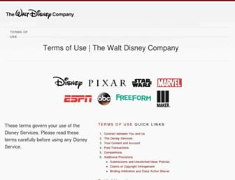 Thumbshot of Disneytermsofuse.com