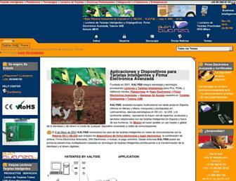 kalysis.com screenshot
