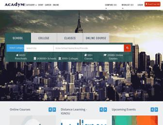 acadym.com screenshot