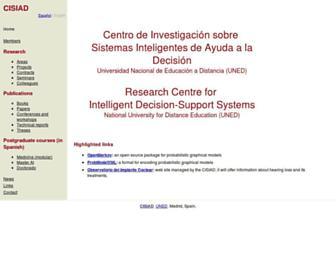 cisiad.uned.es screenshot