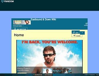 eastboundanddown.fandom.com screenshot
