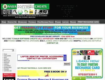 softwarecheats.blogspot.com screenshot