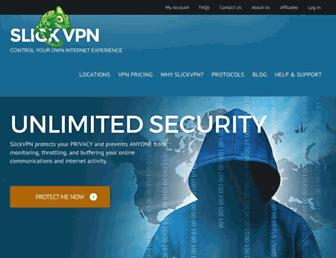slickvpn.com screenshot