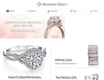 diamondsdirect.com screenshot