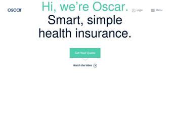 hioscar.com screenshot