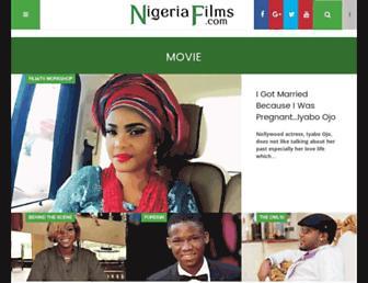 nigeriafilms.com screenshot