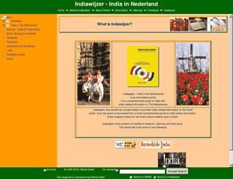 indiawijzer.nl screenshot