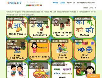 hindicity.com screenshot