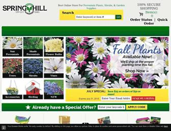 Thumbshot of Springhillnursery.com