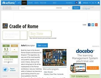 cradle-of-rome.en.softonic.com screenshot