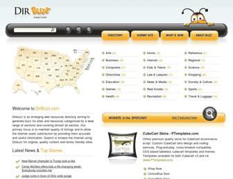 dirbuzz.com screenshot