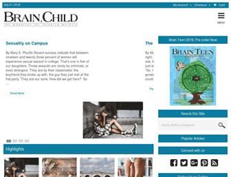 Thumbshot of Brainchildmag.com
