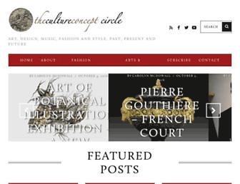 thecultureconcept.com screenshot