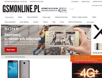 Fullscreen thumbnail of gsmonline.pl