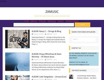 zamusic.org screenshot