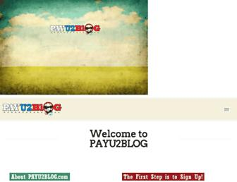 Thumbshot of Payu2blog.com