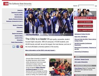 Thumbshot of Calstate.edu