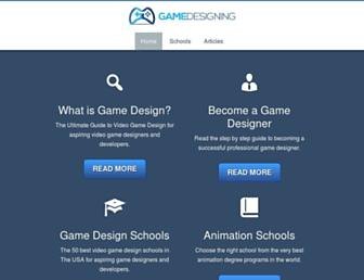 gamedesigning.org screenshot