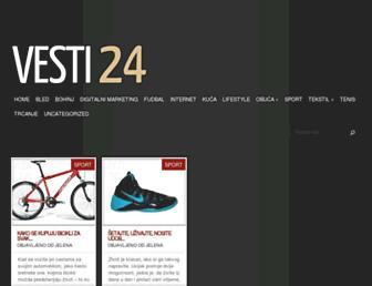 vesti24.rs screenshot