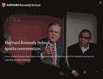 sites.hks.harvard.edu screenshot