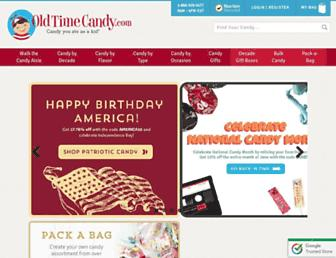 Thumbshot of Oldtimecandy.com