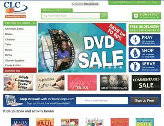 clcbookshops.com screenshot