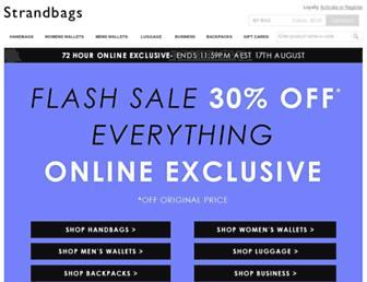 strandbags.com.au screenshot